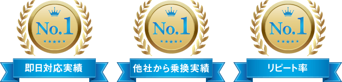 No1実績